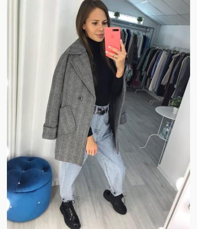 Стильное пальто-блейзер