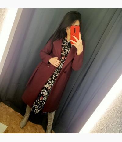 Пальто в разных цветах