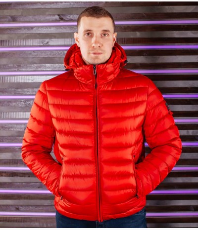 Мужская зимняя укороченная куртка