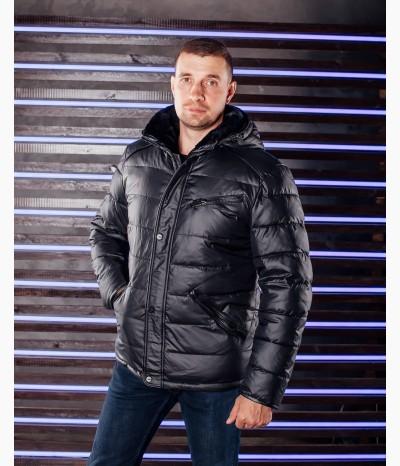 Мужская зинмяя куртка с мехом