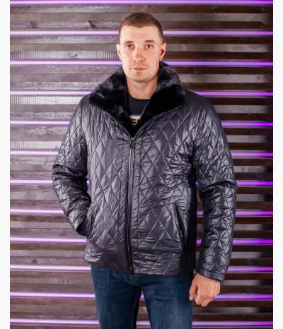 Мужская укороченная зимняя куртка